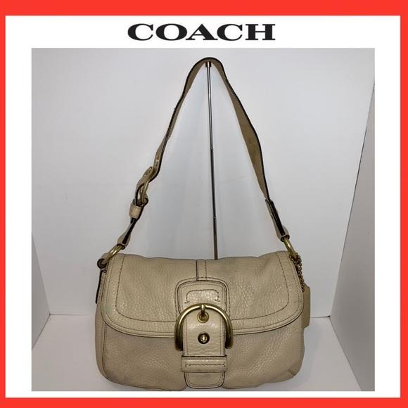 Coach Bags Legacy Soho Buckle Flap Saddle Handbag Poshmark